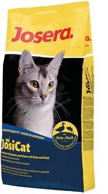 تصویر غذای خشک Josera مدل JosiCat با طعم ماهی و اردک 10کیلوگرم