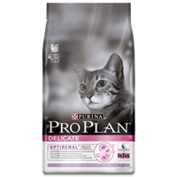 تصویر غذای خشک Proplan مدل Delicate مخصوص گربه بالغ - 400 گرم