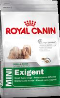 تصویر غذای خشک مغزدار Royal Canin مخصوص سگ های بدغذای نژاد کوچک - ۲کیلوگرم