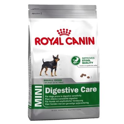 تصویر غذای خشک Royal canin مدل Digestive care مخصوص سگ های بالغ نژاد کوچک - 2 کیلوگرمی