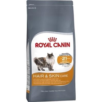 تصویر غذای خشک Royal Canin مدل Hair & Skin Care مخصوص گربه - 400 گرم