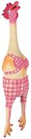 تصویر اسباب بازی لاتکسی صدا دار بوقلمون Trixie مناسب برای توله سگ ها