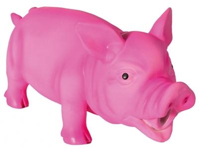 تصویر اسباب بازی لاتکسی صدا دار خوک Trixie مناسب برای توله سگ ها