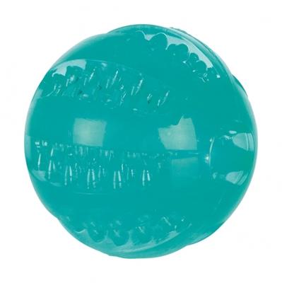 تصویر اسباب بازی Dentafun مخصوص سگ Trixie مدل توپ فوتبال