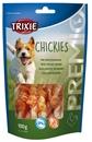 تصویر استخوان جویدنی تشویقی مخصوص سگ Trixie مدل Chickies تهیه شده از سینه مرغ