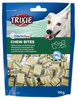 تصویر غذای تشویقی سگ Trixie مدل Chew Bites تهیه شده از جعفری و نعنا تند