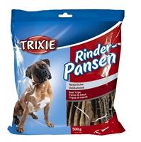 تصویر غذای تشویقی سگ Trixie مدل Beef Tripe تهیه شده از سیرابی گاو