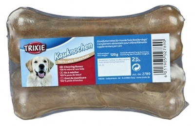 تصویر استخوان ژلاتینی مخصوص سگ trixie تهیه شده از پوست خشک شده گاو  - 120 گرم