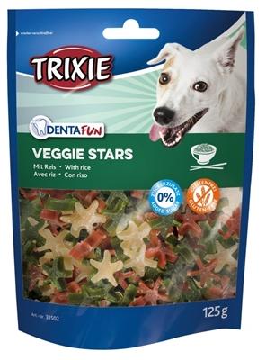 تصویر غذای تشویقی سگ Trixie مدل Veggie Stars تهیه شده از سبزیجات همراه با برنج - 125 گرم