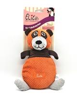 تصویر اسباب بازی عروسک صدا دار Elite مدل خرس نارنجی