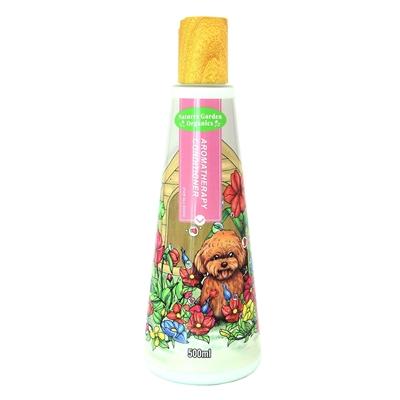 تصویر شامپو مناسب برای سگ هایی با موهای قرمز و قهوه ای Spirint  مدل Fragrance Aromatherapy برای تقویت سلول های رنگدانه - 500 میلی لیتر