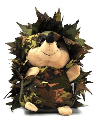 تصویر عروسک صدادار با طرح جغد چریکی BeezTees سایز کوچک - مناسب برای سگ