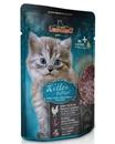 تصویر پوچ مرغ Leonardo مخصوص بچه گربه با طعم گوشت مرغ - 85 گرم