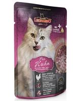 تصویر پوچ مخصوص گربه بالغ Leonardo با طعم گوشت مرغ - ۸۵ گرم