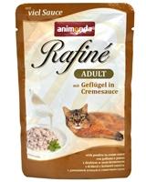 تصویر پوچ گربه بالغ Animonda مدل Rafine تهیه شده از مرغ در سس خامه - 100 گرم