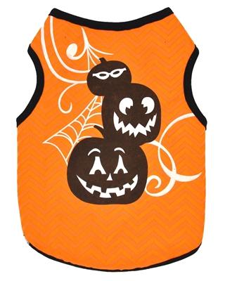 تصویر لباس سگ و گربه با طرح Halloween سایز L