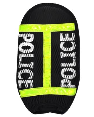 تصویر لباس سگ و گربه با طرح پلیس سایز XL