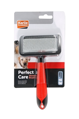 تصویر برس مخصوص سگ Karlie Flamingo سایز متوسط Slicker Brush
