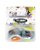 تصویر اسباب بازی توپ تنیس Imac مخصوص سگ - بسته دو عددی