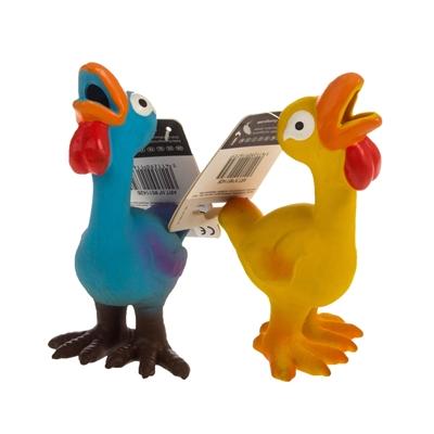 تصویر اسباب بازی بوقلمون Karlie Flamingo مدل Lat'x' Toy مخصوص سگ - رنگ آبی