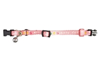 تصویر گردنبند Karlie Flamingo مخصوص گربه با طرح گل های صورتی