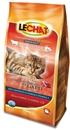 تصویر غذای خشک مخصوص گربه بالغ Lechat با طعم گوشت گاو و سبزیجات - 400 گرمی