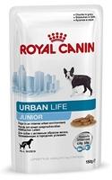تصویر پوچ Royal canin مدل Urban life مخصوص توله سگ های شهری - 150 گرم