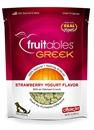 تصویر تشویقی مخصوص سگ Fruitables مدل Greek با طعم توتفرنگی و ماست