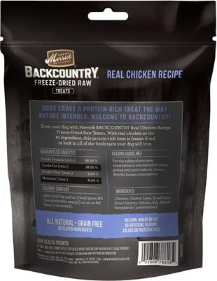 تصویر تشویقی مخصوص سگ BackCountry تهیه شده از گوشت مرغ