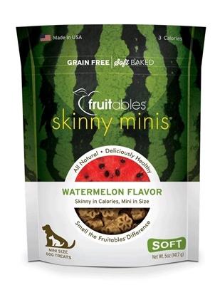 تصویر تشویقی مخصوص سگ Fruitables مدل Skinny minis با طعم هندوانه