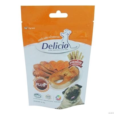 تصویر غذای تشویقی Delicio مخصوص سگ با طعم مرغ و هویج