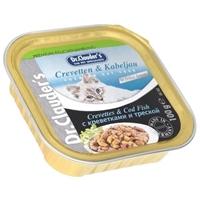 تصویر خوراک کاسه ای مخصوص گربه Dr.Clauder's تهیه شده میگو و ماهی کاد - 100 گرم