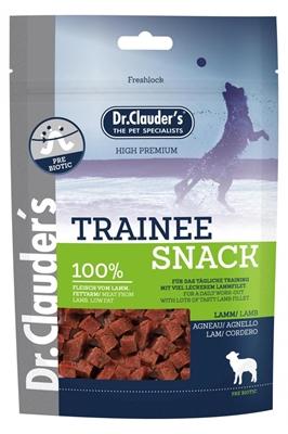 تصویر غذای تشویقی سگ Dr.Clauder's با طعم گوشت بره (تیکه های مکعبی)