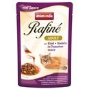 تصویر پوچ Rafine مخصوص گربه تهیه شده از گوشت گاو و پاستا - 100 گرم