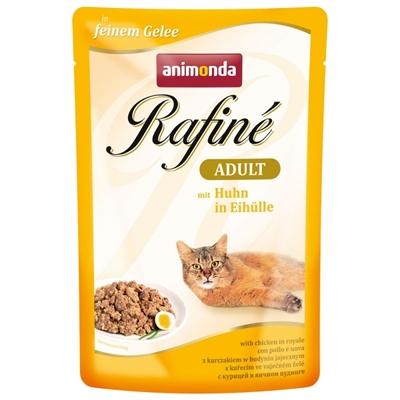 تصویر پوچ Rafine مخصوص گربه تهیه شده از گوشت مرغ - 100 گرم