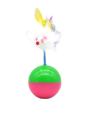تصویر اسباب بازی توپ تعادلی مدل موش پر دار