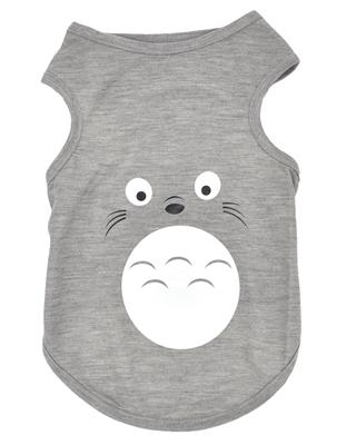تصویر لباس سگ و گربه با طرح موش سایز L