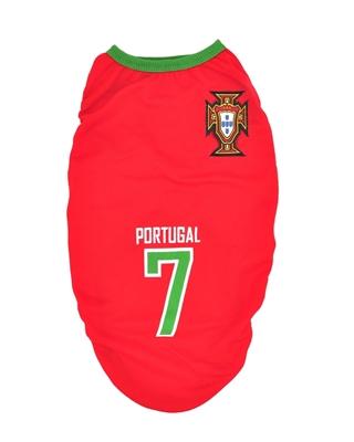 تصویر لباس سگ و گربه با طرح تیم ملی پرتقال سایز XL