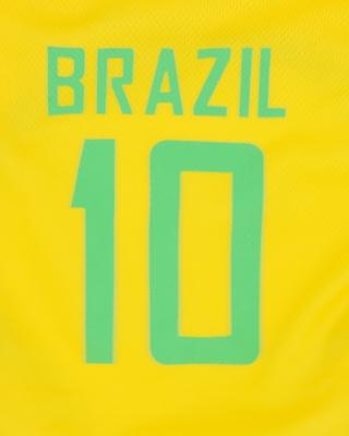 تصویر لباس سگ و گربه با طرح تیم ملی برزیل سایز L