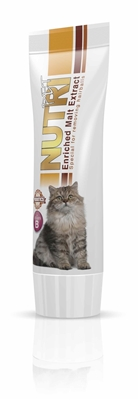 تصویر خمیر مالت مخصوص گربه NutriPet حاوی پروبیوتیک - 800cc