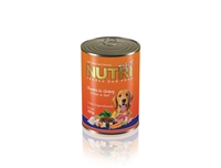 تصویر کنسرو مخصوص سگ NutriPet با طعم گوشت مرغ - 425گرم