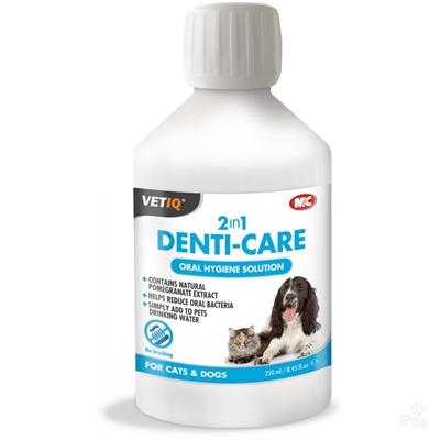 تصویر محلول محافظت از دهان و دندان VETIQ مخصوص سگ و گربه