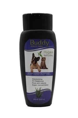 تصویر شامپو مخصوص سگ و گربه Buddy با رایحه آلوئه ورا