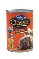 تصویر کنسرو Butchers مخصوص گربه بالغ مدل Classic با طعم گوشت گوساله - 400 گرم