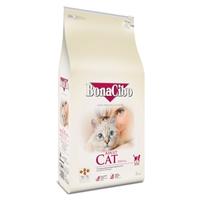 تصویر غذای خشک گربه بالغ BonaCibo با طعم مرغ  و ماهی آنچووی و برج - 5 کیلوگرم
