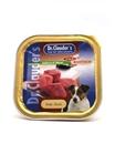 تصویر خوراک کاسه ای Dr.Clauders مخصوص سگ با طعم اردک