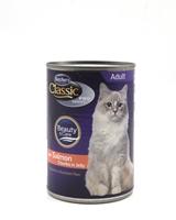 تصویر کنسرو Butchers مخصوص گربه بالغ مدل Classic Beauty care با طعم ماهی سالمون
