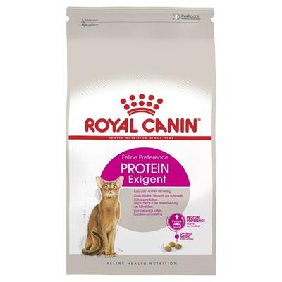 تصویر غذای خشک گربه Royal Canin مدل Protein Exigent مخصوص گربه های بد غذا - 400 گرم
