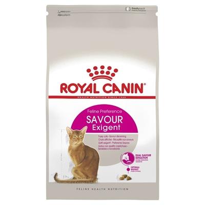 تصویر غذای خشک گربه Royal Canin مدل SAVOUR EXIGENT مخصوص گربه های بد غذا - 400 گرم