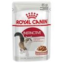 تصویر پوچ Royal Canin مدل INSTINCTIVE gravy مخصوص گربه بالغ - 85 گرمی